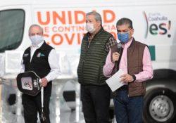 Invierte Coahuila más de 70 millones de pesos para combatir al Covid