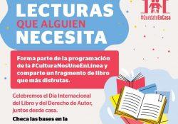 Invita cultura Coahuila a participar en 'Lecturas que alguien necesita'