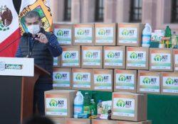 Inicia MARS Entrega de 600 mil kits de limpieza en todo Coahuila