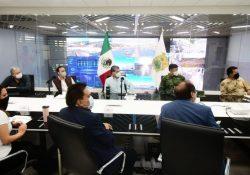 Gobernador ofrece su apoyo para atender covid en Presidencia de Torreón