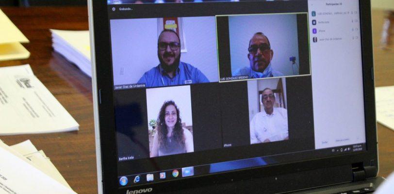 ICAI realiza reunión de trabajo por  videoconferencia