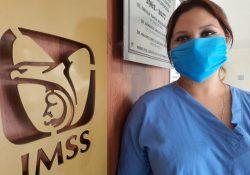Enfermera del IMSS, primera mujer donadora de plasma de Coahuila
