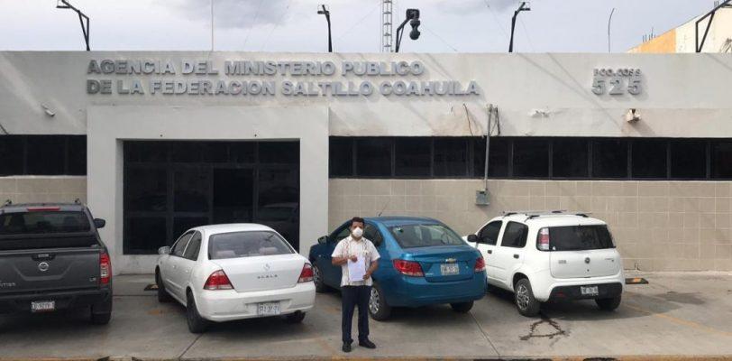 Denuncia Delegado Federal ante FGR irregularidades en manejo de medicamentos en el IMSS