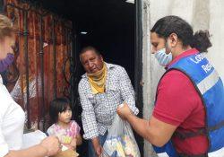 Entregó UAdeC kits de higiene personal, medicamentos y despensas