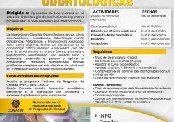 Convoca UAdeC a cursar la maestría en ciencias Odontológicas