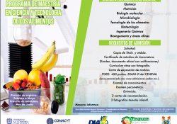 Invita UAdeC a maestría en ciencia y tecnología de alimentos de la Facultad de Ciencias Químicas