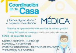 Brinda Coordinación Unidad Saltillo orientación médica y odontológica en línea