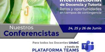 """Invita UAdeC a Docentes a Participar enWebinar""""Retos y Oportunidades en Tiempos de Contingencia"""""""