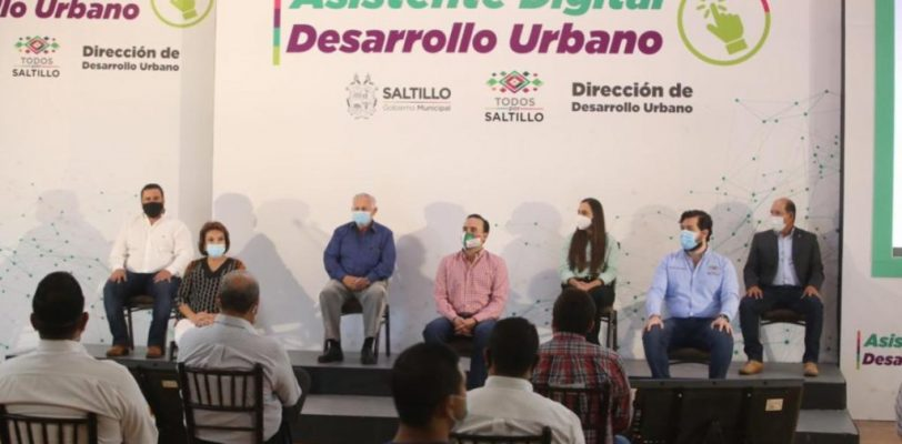 Presenta Manolo Jiménez el Asistente Digital de Desarrollo Urbano