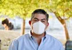 Reconoce Paredes López apoyo del Gobernador para enfrentar la pandemia