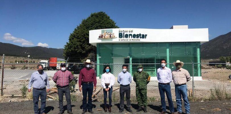 Registra 95% de avance Banco del Bienestar en Arteaga
