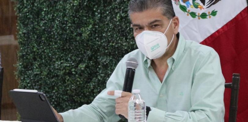Es Coahuila referente en atención a covid-19 en el país; destaca en una reunión de gobernadores