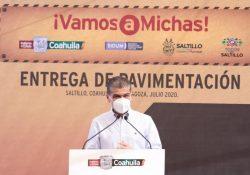 Garantiza estado desarrollo de obra pública en Coahuila: MARS