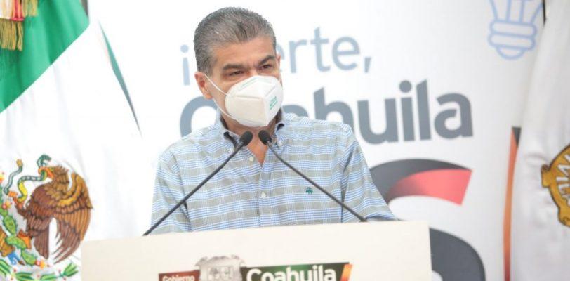 Cada viernes el gobernador de Coahuila aplica prueba de covid-19