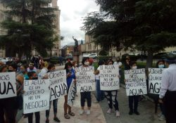 Región Carbonífera sufre por la falta de agua y protestan