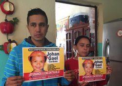 Padres Gael viajan a Chiapas con la esperanza de encontrar a su hijo desaparecido