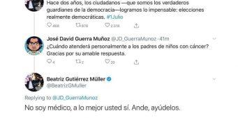 "Esposa del Presidente debe ""aguantar vara"", considera Senador de Morena"