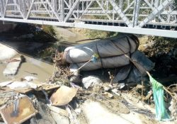 ¡Qué cochinero! Arroyos de Saltillo se convierten en basureros
