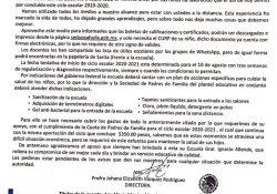 En Coahuila cargarán a padres de familia pago de insumos contra el covid-19