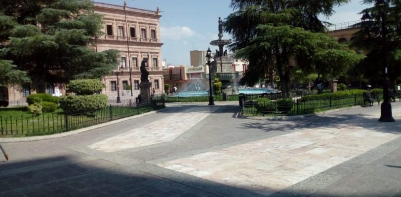 """Darán """"manita de gato"""" a Plaza de Armas de Saltillo"""