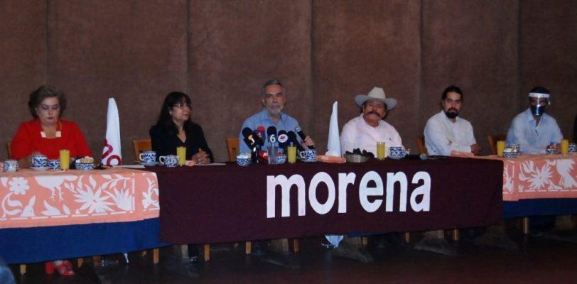 En trifulca termina visita de líder nacional de Morena a Saltillo