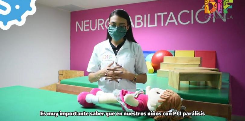 Ofrece DIF Coahuila apoyo a través de videorehabilitación
