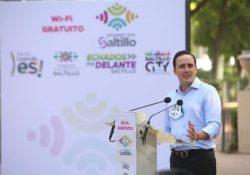"""Arranca Alcalde gran proyecto """"Internet Por Saltillo"""""""