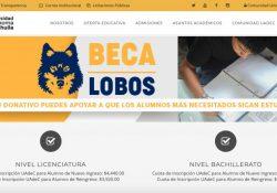 Convoca UAdeC a participar en el programa beca lobos a través de donativos que ayudarán a estudiantes a continuar sus estudios