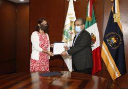 Entrega Rector de la UAdeC nombramientos a la Defensoría de los Derechos Humanos Universitarios y el Tribunal Universitario para la atención de los casos de ciolencia de género