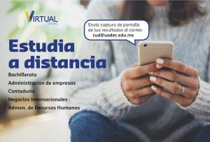 Convoca UAdeC a cursar licenciaturas en línea en el campus virtual
