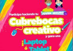 "Coahuila convoca al concurso de diseño de ""Cubrebocas Creativo"""