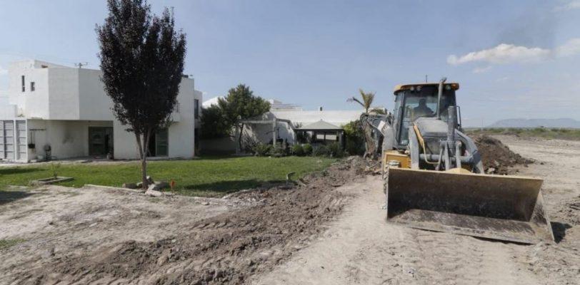 Continúa municipio reparaciones por daños de Hanna en El Campanario