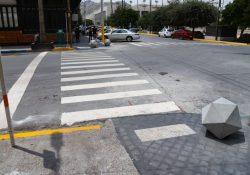 Alcalde arranca obras para facilitar la movilidad de personas en el Centro Histórico