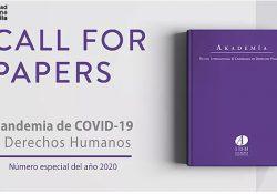 """Convoca AIDH a Participar con colaboraciones para el número especial 2020 de la revista """"Akademía"""""""