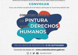 Convoca AIDH a participar en la primera edición del concurso estatal de pintura sobre derechos humanos