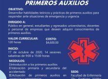 Invita UAdeC al diplomado en primeros auxilios