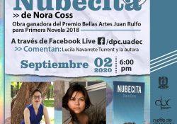 """UAdeC invita a la presentación en línea del libro """"Nubecita"""""""
