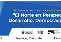 Invita UAdeC al VIII congreso de la red de estudios de género del norte de México
