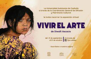 Expondrá UAdeC trabajo de la artista Diwalli Ascacio