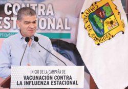 Coahuila inicia Campaña Estatal de Vacunación contra Influenza Estacional