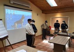 Inaugura Protección Civil capacitación para binomios caninos de búsqueda personas con vida, extraviadas