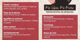 La Secretaría de Cultura de Coahuila da a conocer los Resultados del Premio Estatal De Artesanía 'Mis Oficios, Mis Manos'