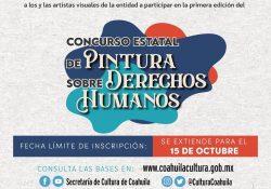 Extiende AIDH el Periodo de Recepción de Trabajos para Participar en la Primera Edición del Concurso Estatal de Pintura sobre Derechos Humanos