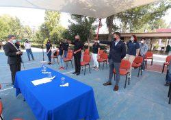 Toman protesta consejeros universitarios de la Facultad de Ciencias Químicas y consejeros directivos del ICH