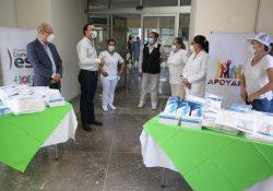 Continúa Alcalde y Apoyare con entregas de material de protección a hospitales de Saltillo