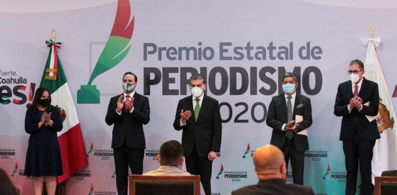 MARS reconoce y agradece al gremio periodístico de Coahuila