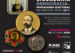 Invita Cultura Coahuila a la exposición 'Ciudadanía, democracia y propaganda electoral 1910-2018'