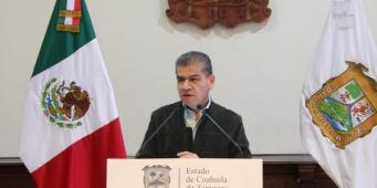 Coahuila, listo para la jornada electoral: Miguel Riquelme
