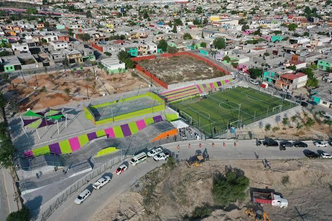 Avanza construcción de la línea verde en Saltillo