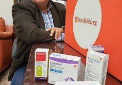 Recibe Salud Coahuila donación de medicamento especializado